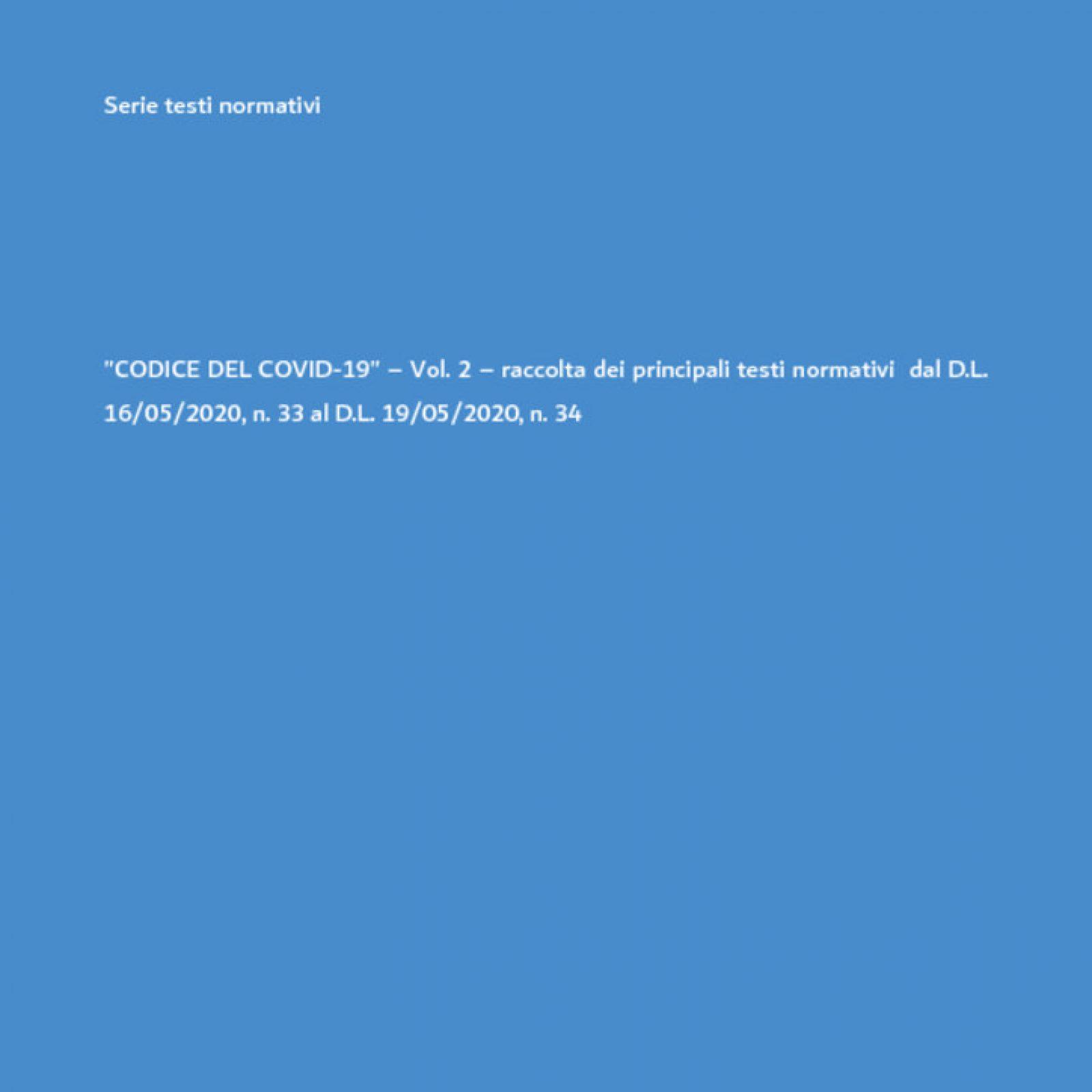 Il codice del COVID-19 aggiornato al decreto rilancio