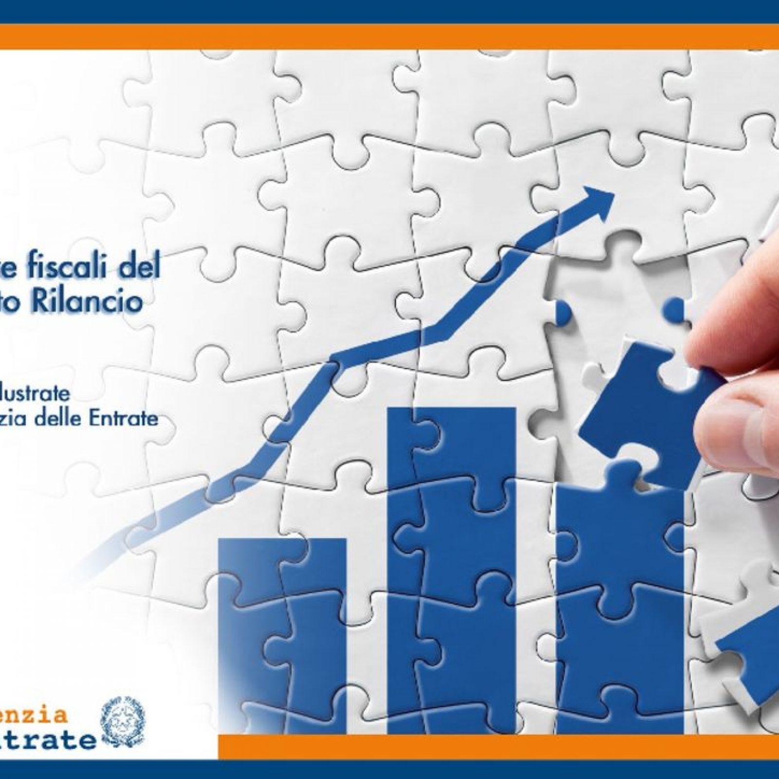 Le misure fiscali del decreto rilancio nelle slide dell'Agenzia delle Entrate